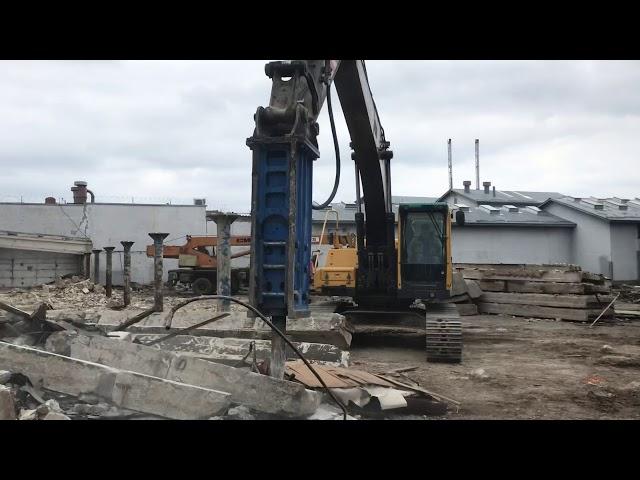 Видео1 Гидромолот NKB 1650