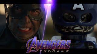 Avengers: Endgame Trailer 2 in LEGO Side by Side Comparison