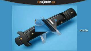 TACTICAL LEVERLOCK 7.75 SWITCHBLADE KNIFE
