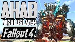 Fallout 4 - AHAB THE WORLDSLAYER BOSS - Legendary Bosses & Giant Creatures MOD - XB1 PC