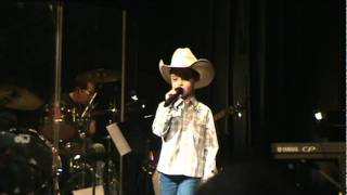 "Maddox Ross performing ""Little Bitty"" cover by Alan Jackson"