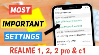 How to app lock in realme c1/ realme c1 phone me app lock kaise