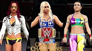 WWE Clash of Champions 2016: Charlotte vs Sasha Banks vs Bayley (Raw Women's Championship)