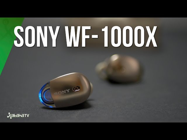 Sony WF 1000R, análisis