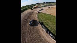 Rallycross BMW e36 chased   FPV Drone