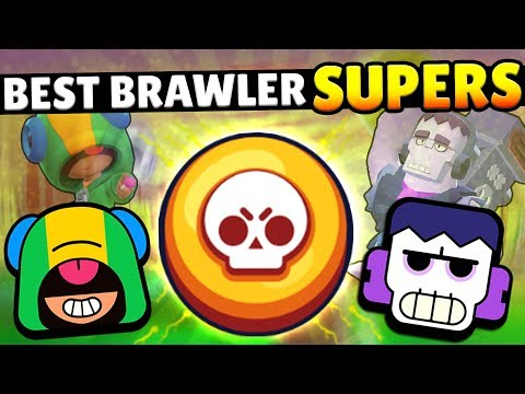 THE BEST SUPERS IN BRAWL STARS!! THESE BRAWLER SUPERS DESTROY!