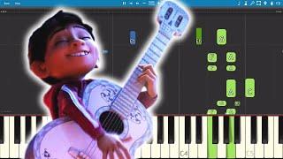 Proud Corazón - Coco Soundtrack - Piano Tutorial - Anthony Gonzalez (El Latido De Mi Corazon)