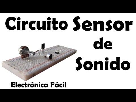 Proyectos electrónicos | Circuito Sensor de Sonido o aplausos - Muy fácil de hacer