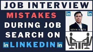 LinkedIn Job Search: Top Mistakes | LinkedIn Job Search Tips