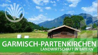 preview picture of video 'Landwirtschaft in Bayern: Landkreis Garmisch - Partenkirchen in Oberbayern'