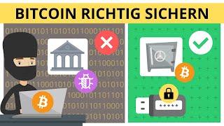 Lagern Sie Bitcoin auf dem USB-Stick