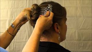 Bun With Long,Thick,Full Body Hair Using Hair Comb