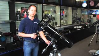 Orion SpaceProbe 130 mm Equatorial Reflector Telescope - 09851