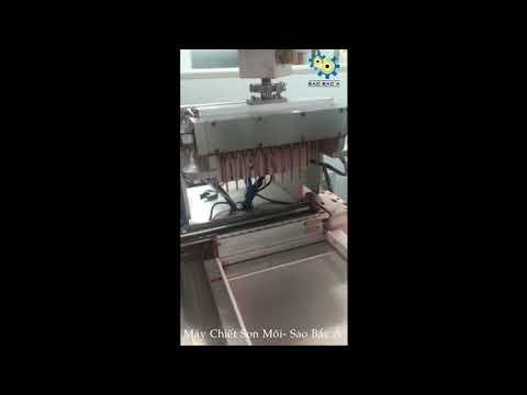 Video Máy Chiết Rót Son Môi Tự Động