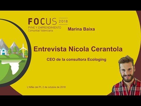 Entrevista a Nicola Cerantola, CEO de Ecologing en Focus Pyme Marina Baixa[;;;][;;;]