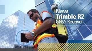 GNSS приемник Trimble R2 GNSS UHF от компании Геодезическое оборудование и инструменты - видео
