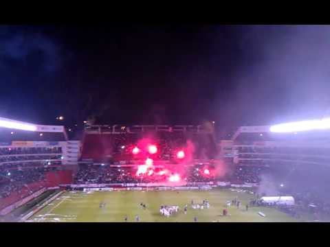 """Recibimiento Liga de Quito - Semifinal Sudamericana 2011 LDU vs. Velez"" Barra: Muerte Blanca • Club: LDU"