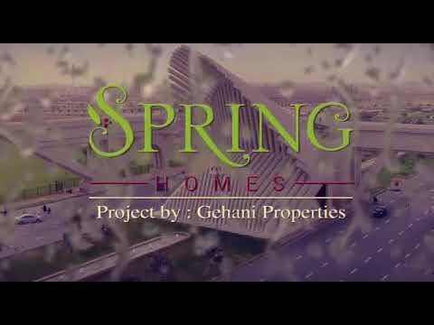 Spring Homes – 125 SQY Luxury Villas in Bahria Town Karachi
