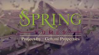 Spring Homes – 125 SQY Luxury Villas in Bahria Town Karachi