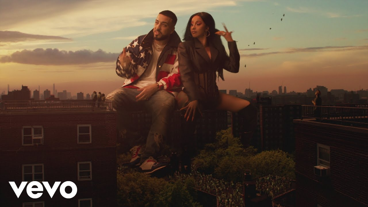 French Montana ft. Post Malone, Cardi B, Rvssian — Writing On The Wall