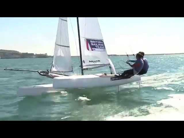 Trapezing Top Tips with Nacra 17 sailor Hannah Diamond - British Sailing Team
