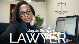 REAL DAY IN THE LIFE AS A LAWYER | 9 To 5 Life