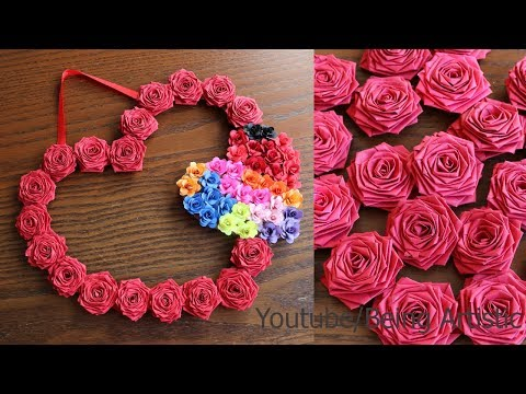 DIY – Paper Wall Hanging Craft Ideas – Paper Craft – Wall Decoration Ideas