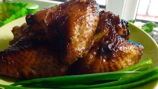 Крылышки Терияки в Аэрогриле GFgril. Самые вкусные куриные крылышки.