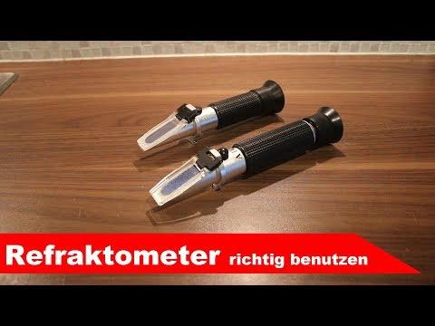 🍷 Refraktometer 🍷 richtig verwenden - Gerätekunde Teil 2 - Fermentastisch
