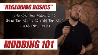 Mudding 101: Re-gearing Basics