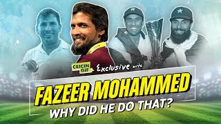 Fazeer Mohammed's exclusive interview with Cricingif - WHY DID HE DO THAT?