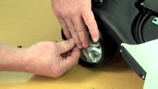 stewart golf - front wheel fitting guide