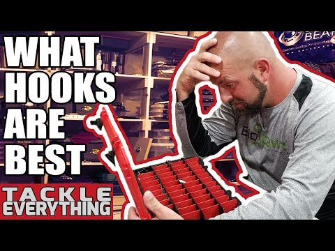 How To Choose The Best Fishing Hook For Bass. Size, Brands, Setups
