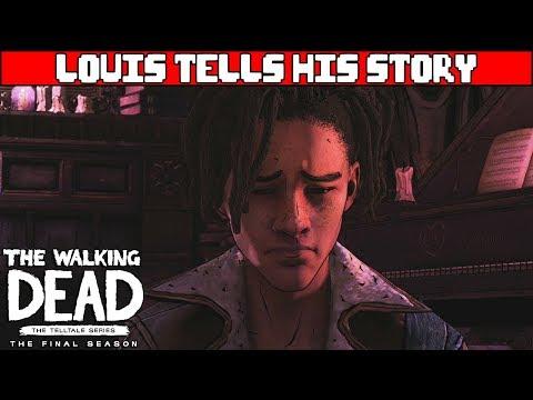 Louis Gets His Tongue Cut Out - WALKING DEAD TELLTALE SEASON