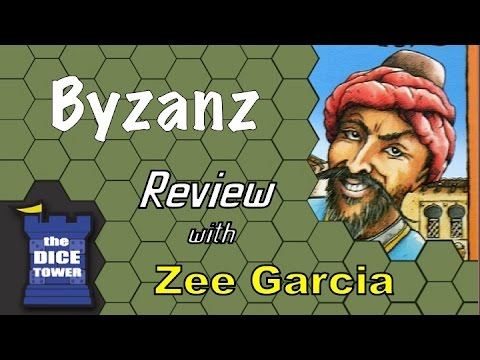 The Dice Tower reviews Byzanz