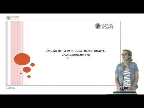 Diseño de la red sobre cable coaxial según ANEXO II del Real Decreto 346/2011. | | UPV