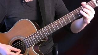 """Learn """"The Butterfly"""" on Guitar. Celtic tune in DADGAD tuning, 9/8 time. FREE TAB!!"""