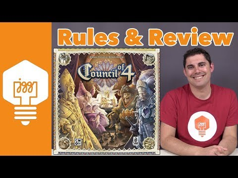 JonGetsGames - Council of 4 Review