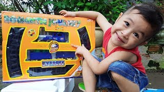 Trò Chơi Bé Ráp Đoàn Tàu Xe Lửa ❤ ChiChi ToysReview TV ❤ Đồ Chơi Trẻ Em Baby Doli Song