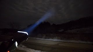 How To turn a 100 watt LED Light into a Search Light