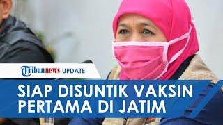 Gubernur Jatim Khofifah Siap Jadi Orang Pertama yang Disuntik Vaksin Covid-19 di Awal 2021