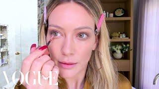 Hilary Duffs Busy Mom Makeup Routine | Beauty Secrets | Vogue