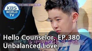 She's upset because of her husband, who favors their younger son[Hello Counselor ENG,THA/2018.09.17]