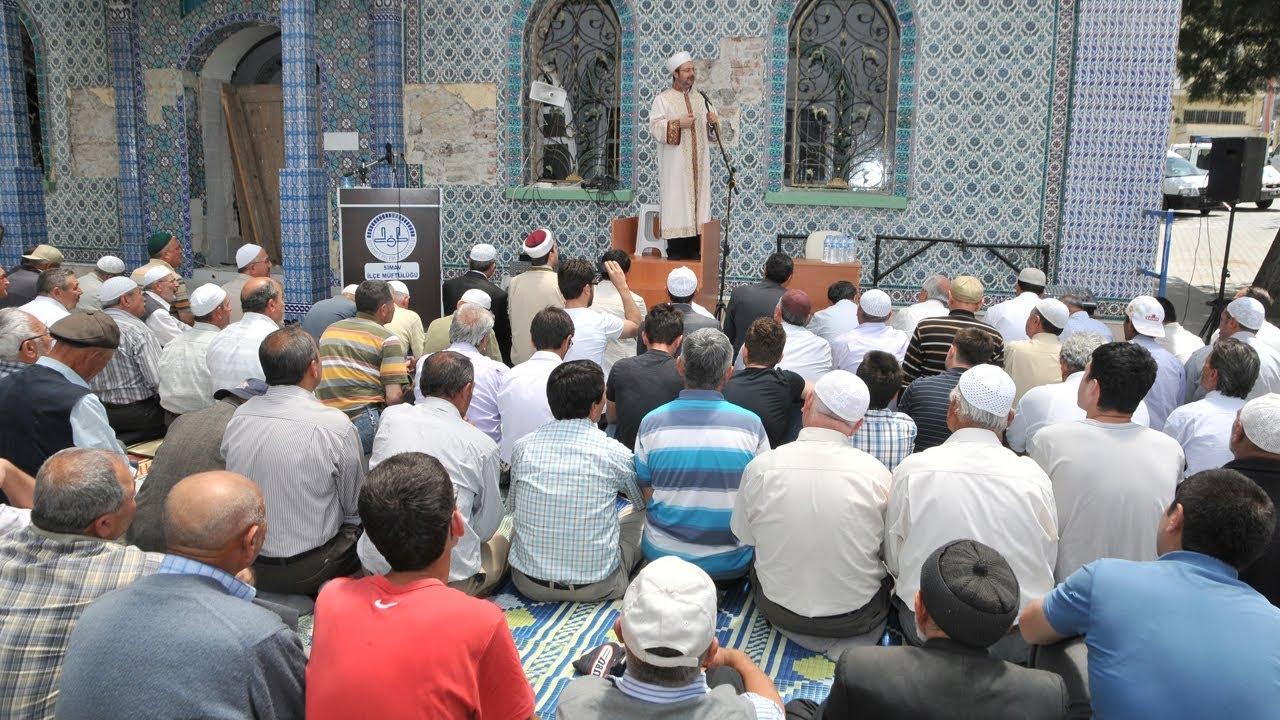 Kütahya Halil Ağa Camii I Simav Depremi I Cuma Hutbesi 10.06.2011