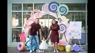 Andrea Brielles 1st Candyland Themed Party At Avida Towers Vita