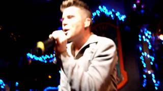 Joe McElderry - Dublin 171210 - Real late starter