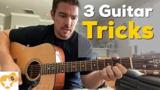3 Simple Guitar Tricks You Should Master   Beginner Guitar Lesson