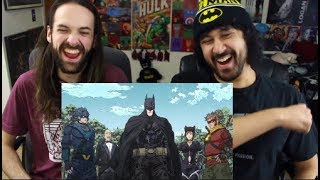 BATMAN NINJA TRAILER (English Language) REACTION & REVIEW!!!