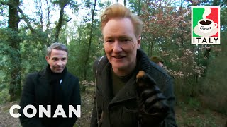 Conan & Jordan Schlansky Go Truffle Hunting  - CONAN on TBS - Video Youtube