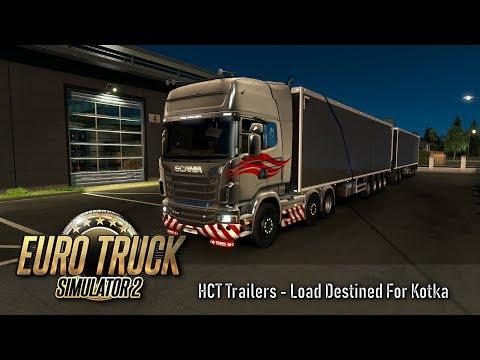 ETS2 1 33 - Beyond The Baltic Sea - HCT Trailer - Finland